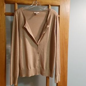 Light cardigan sweater, great for evening events